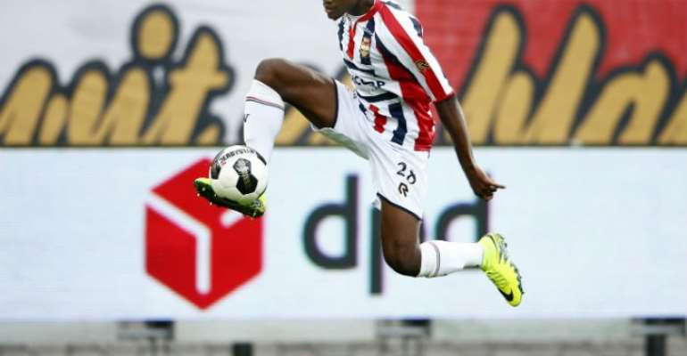 Willem II Tilburg give Ghanaian kid Asumah Abubakar a one-and-a-half year contract extension