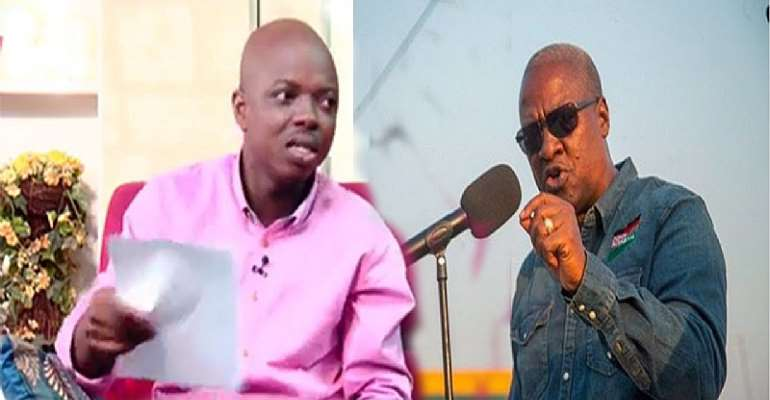 Insults Won't Deter Me From Exposing You – Abronye To Mahama