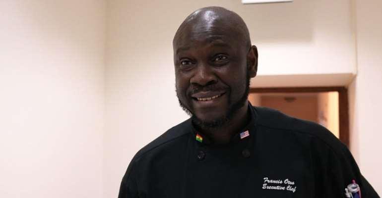 Ghanaian Executive Chef, Francis Otoo
