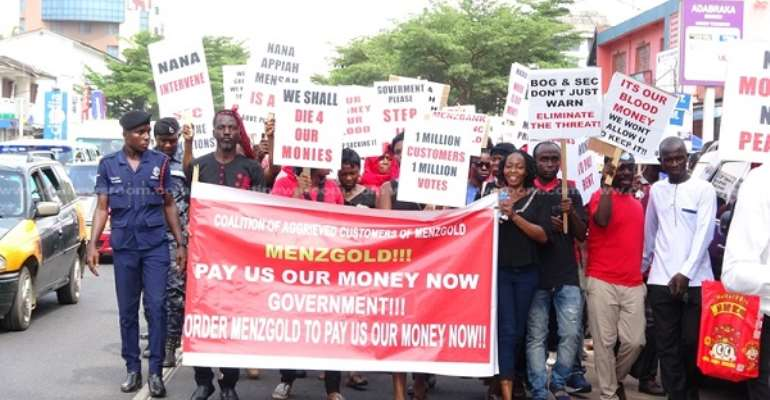 Menzgold Customers Want Gov't To Come Out With Road Map To Settle Loses Or Else...
