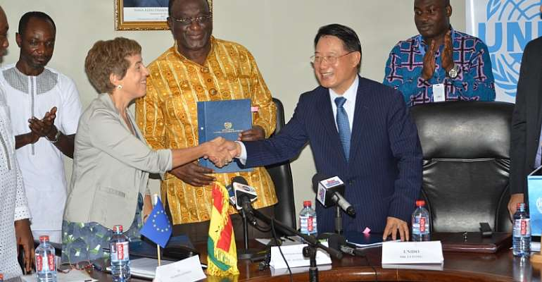 Ghana, UNIDO Partner To Boost Industrial Development And Strengthen Export Competitiveness