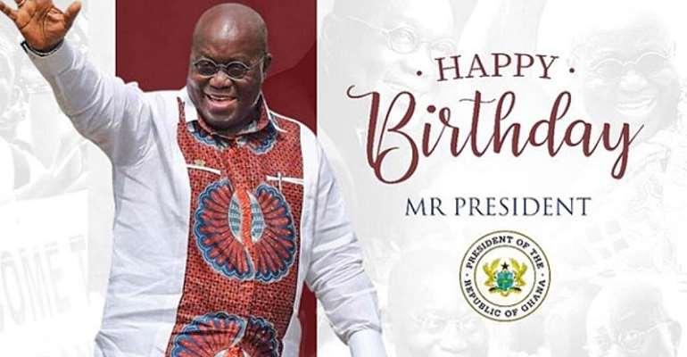 NPP Eulogizes Akufo-Addo On Birthday; Says