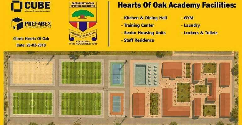 Start Of Hearts Of Oak's Pobiman Project To Be Delayed Due To Covid-19