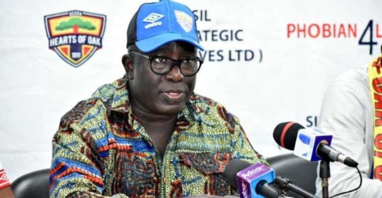 Frederick Moore Admits He Has Under-Performed As Hearts Of Oak MD