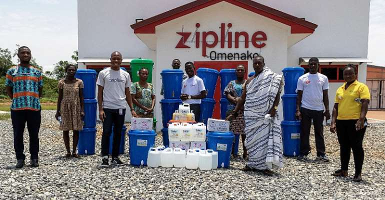 Fight Against COVID-19: Zipline Donates Items To Its Host Communities
