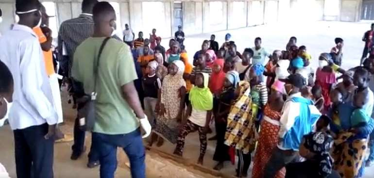 Covid-19 Lockdown: Over 200 Kayayei Flee From Accra