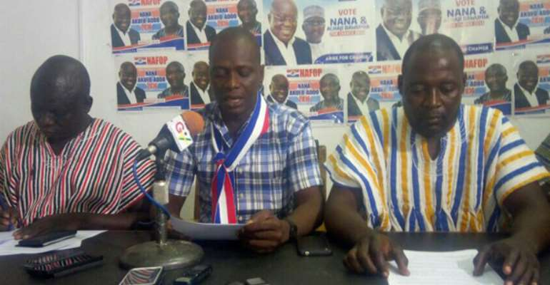The Leadership of the Upper East Youth Wing of the New Patriotic Party