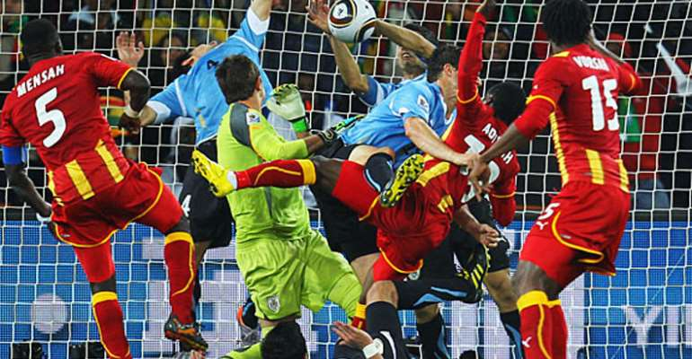 FIFA Changes Laws (LOCAL)  …After Suarez 'Hand Of 'god' Against Ghana