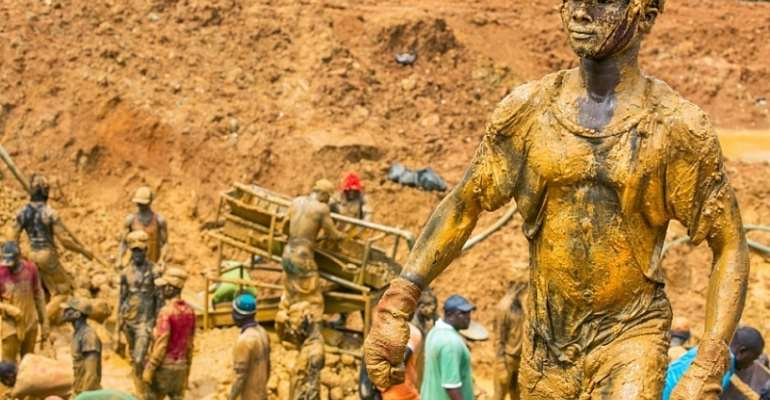 Occupyghana® Declares #redapril In The Fight Against Galamsey