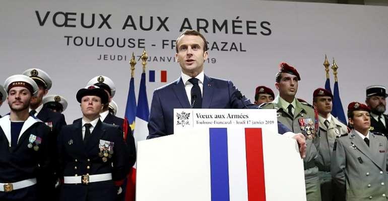 Guillaume Horcajuelo/Pool via Reuters