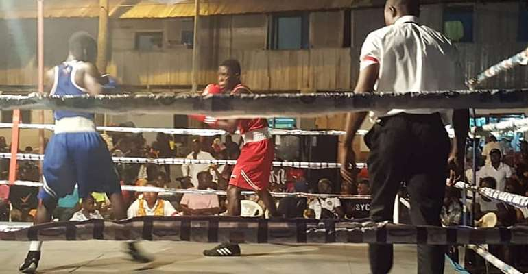 Bukom Fist Of Fury Boxing League Draws Massive Crowd At Abeka Manste Agbonaa