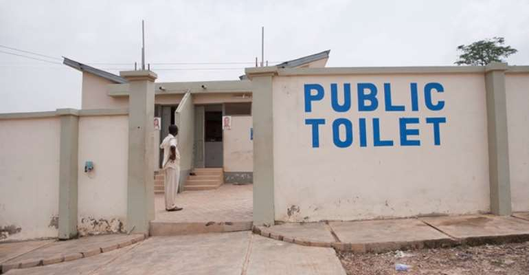COVID-19 Lockdown: Korle Gono Residents Commend Gov't For Exempting Public Toilets