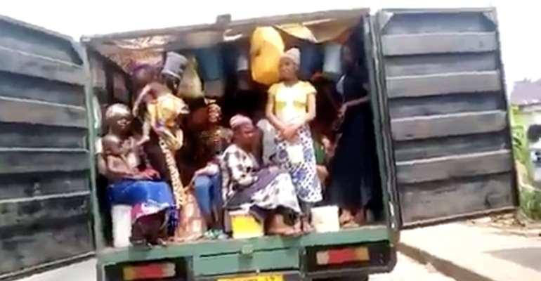Ejisu: Police Seize Walewale-bound Truck With 30 Kayayei