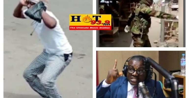 Soldiers Must Keep Beating Recalcitrant Civilians--Hot FM Presenter Boamah Darko