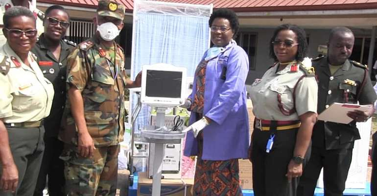 Herona Company Limited And 3foundation Donate Medical Equipment To 37 Military Hospital