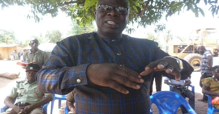 Atebubu-Amantin MCE Assures Community Members Of Development