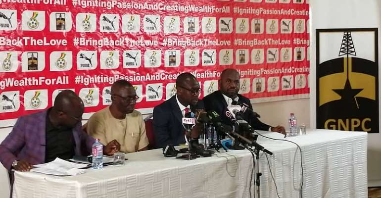 CK Akonnor Promises Attacking Football From Black Stars