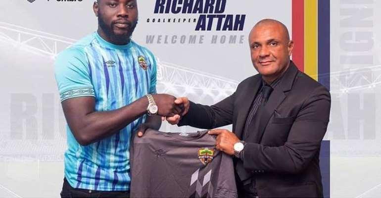 Kim Grant Congratulates Hearts of Oak Goalkeeper Richard Atta For Black Stars Call Up