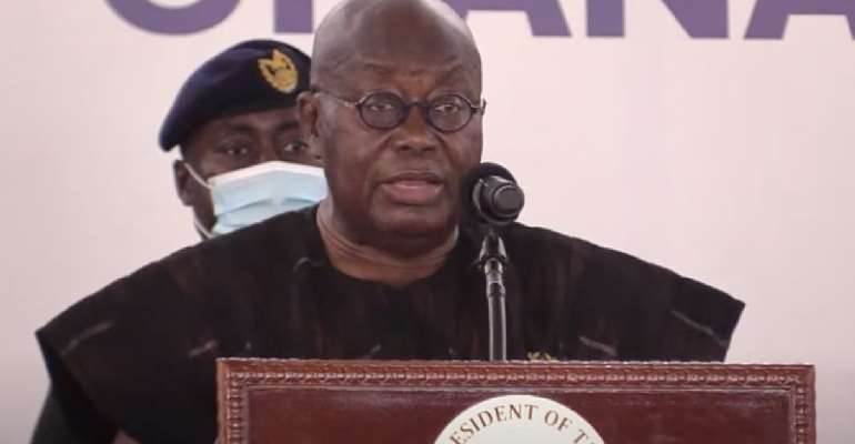 You're retired; thanks for your service – Akufo-Addo goodbyes Domelevo