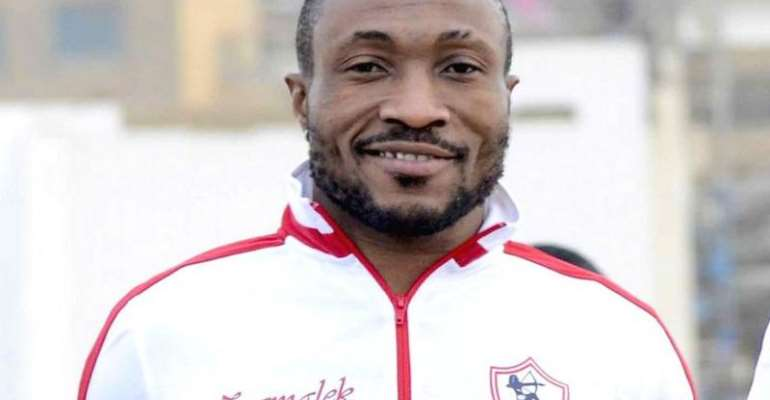 Ghana's Benjamin Acheampong joined Zamalek in September 2017, only to cancel his contract 11 months later