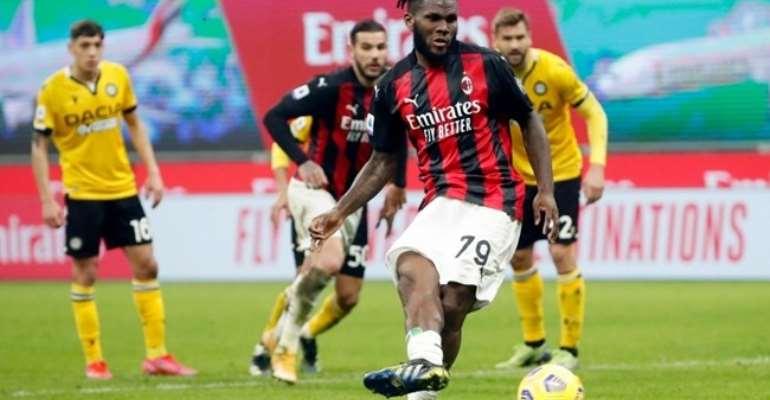 Franck Kessié - Milan-Udinese Serie A 2020-21  Image credit: Getty Images