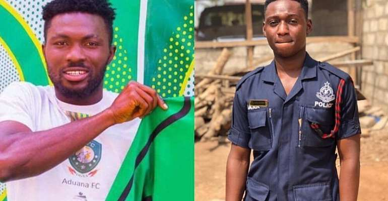 CCTV Cameras exposed Aduana Stars player who knocked down police officer---Dormaa Police