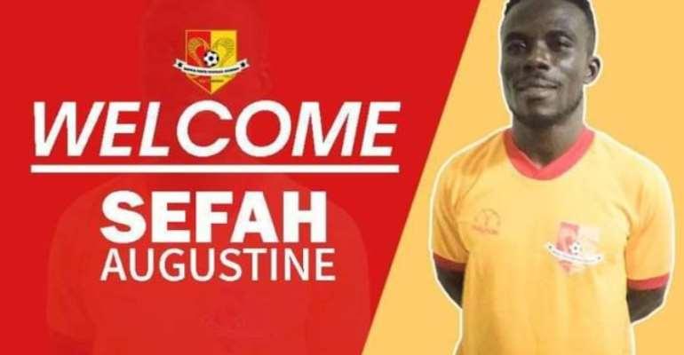 DOL side BYFA bolster squad with the signing of ex-Kotoko defender Augustine Sefah
