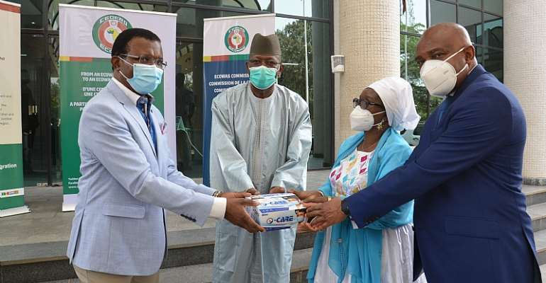 Mr. Cyprian Orakpo, Mr. Mamadou Traore, Prof. Stanley Okolo and  Mrs Halima Ahmed