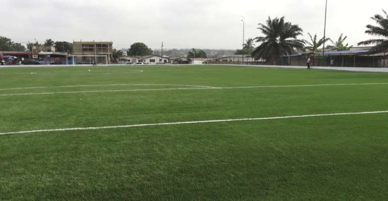 Government commissions another astro-turf at Apenkwa