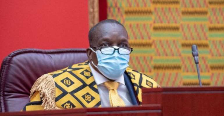 Parliament needs more than 6,000 doses of vaccines – Bagbin