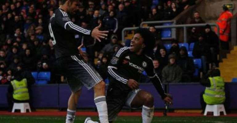 Ghana defender Baba Rahman unused substitute as Chelsea crash Crystal Palace and get their mojo back