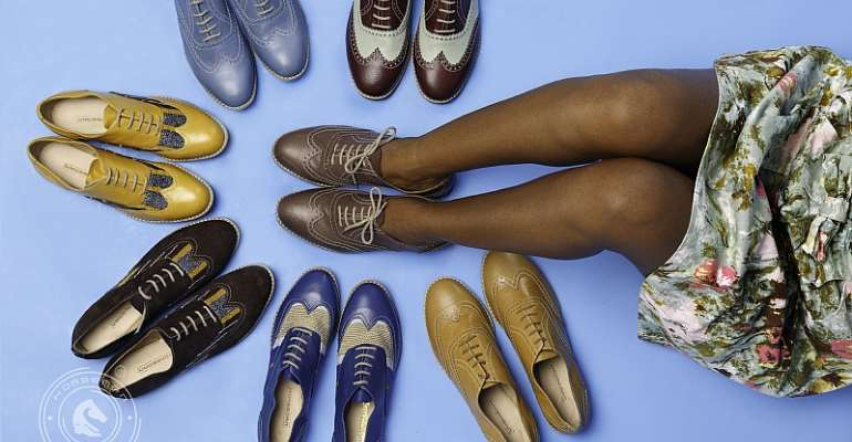 Horseman Shoes Introduces SHE BROGUES For Ladies