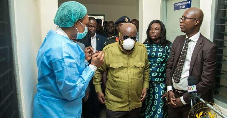 Coronavirus: Akufo-Addo Satisfied With Ghana's Readiness