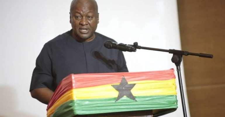 I won't compromise Ghana's stability – Mahama assures
