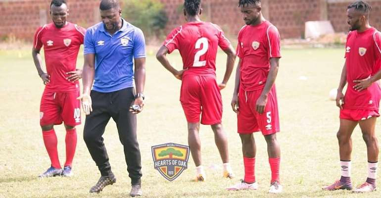 No Dulling: Samuel Boadu hold first Hearts of Oak training [Photos]