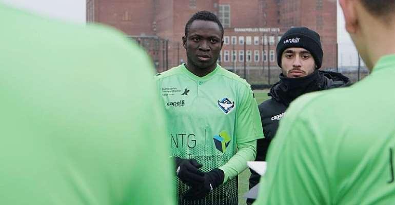 CONFIRMED: Victorien Adebayor joins Legon Cities FC from HB Koge