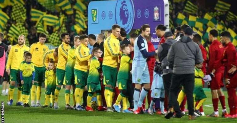 Coronavirus: Premier League Ditches Pre-Match Fair-Play Handshakes