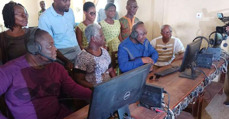Tema West MP Commissions ICT Lab At Temasco
