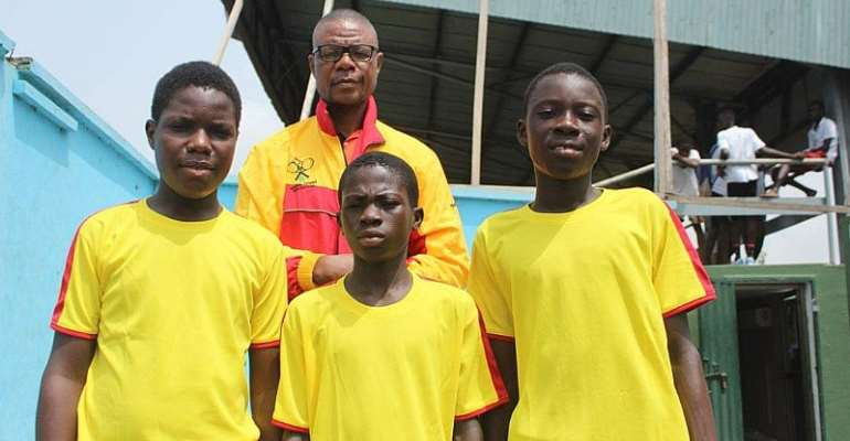 Three Young Ghanaians For ITF/CAT West And Central Africa Junior Championships
