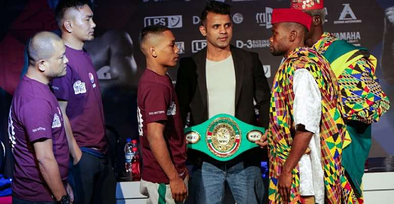Eric Quarm in India for WBC Youth World Title