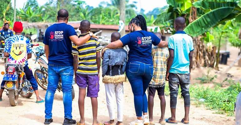 End Modern Slavery rescues four boys trafficked from Eastern to Central Region