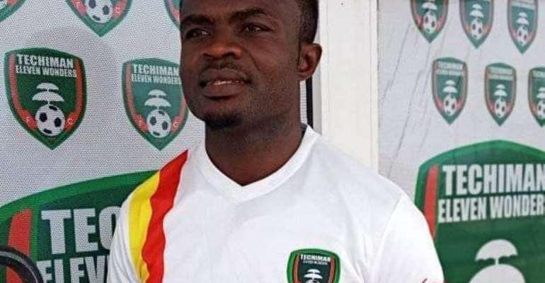 Former Asante Kotoko captain Amos Frimpong joins Techiman Eleven Wonders