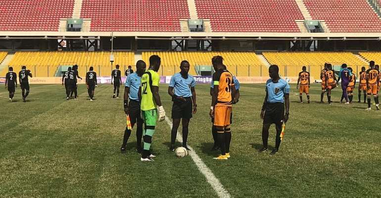 GHPL: Inter Allies FC share points with Ashgold SC after 1-1 stalemate