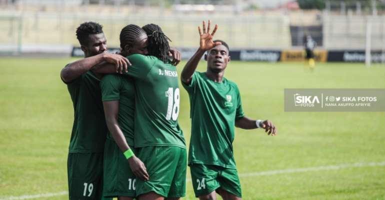 GHPL: Alhaji Mustapha's solitary strike sees Elmina Sharks defeat Asante Kotoko 1-0
