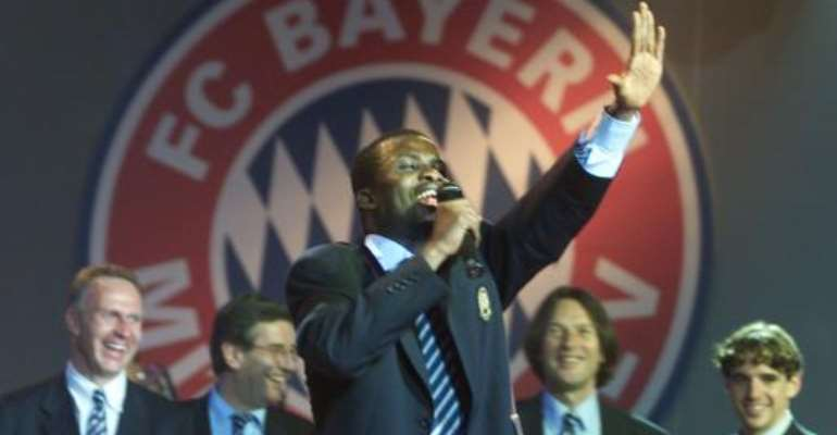 Bayern Deny English Bid For Kuffour