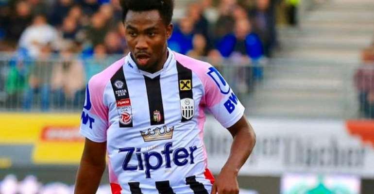 Striker Samuel Tetteh Wins Top Award In Austria