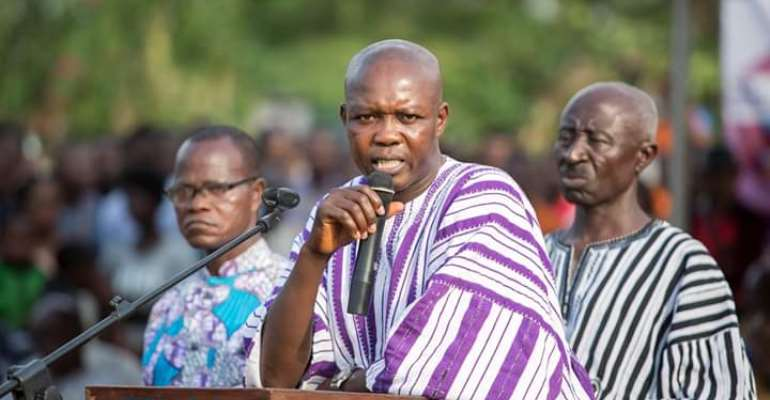 NDC MP Accuses Akufo-Addo Of Neglecting JM Projects