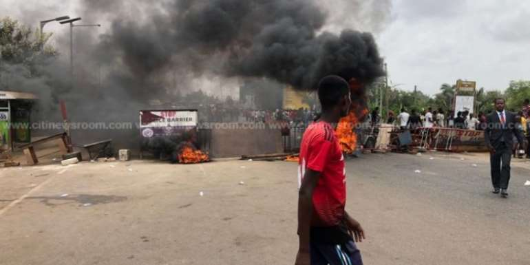 Bureau Of Public Safety Condemns Sogakope Youth Over Violence