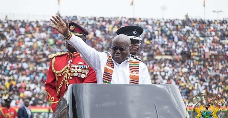 Akufo-Addo Says Ghana Is Making Progress