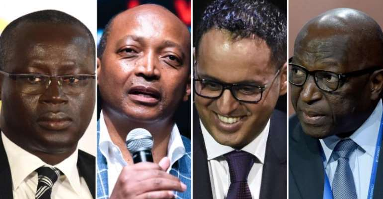 Augustin Senghor, Patrice Motsepe, Ahmed Yahya and Jacques Anouma had all been approved for the March elections